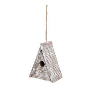Nid bois Caribou - Zolux - Triangle - 17 x 11 x 21 cm