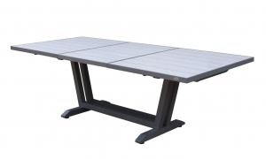 Table Amaka - Les Jardins - 170/230 x 90 cm - Gris
