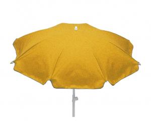 Parasol rond Colors - Jardin privé - Ø 180 cm - Safran