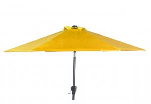 Parasol à manivelle Colors - Jardin privé - Ø 250 cm - Safran