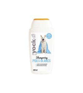 Shampoing pour chiens à poils blancs - Yock - 250 ml