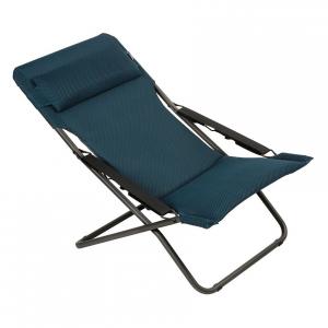 Bain de soleil Transabed Be Comfort - Lafuma Mobilier - Bleu Encre