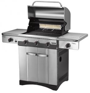 1834108 - Lot barbecue gourmet BBQ800E + plancha professionnelle PBQ03E + kit valise premium ustensiles 13 pièces - Cuisinart