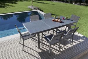 Table Pivoine - Terria - 160 / 210 X 90 cm