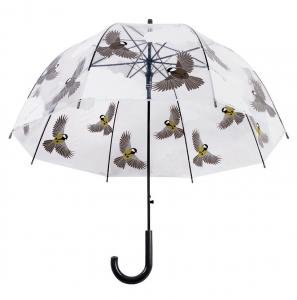 Parapluie transparent oiseaux - Esschert Design - Ø 80,8 x 81 cm