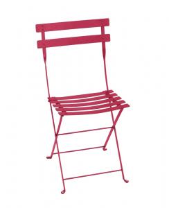 Chaise pliante Bistro - Fermob - Métal - Rose Praline