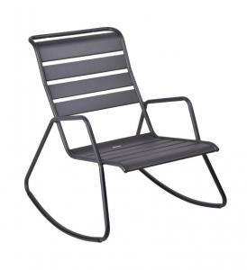 Rocking chair Monceau - Fermob - 68 x 78 x 88 cm - Carbone