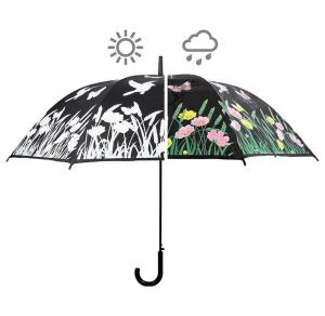 Parapluie oiseau couleurs changeantes - Esschert Design - Ø 116,5 x 91,2 cm