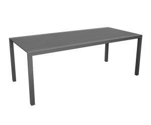 Table Dina 200 - Alizé - 200 x 90,5 x 74 cm - Gris