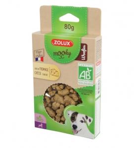 Friandises Mooky Bio Woofies au goût de Fromage - Zolux - Pour chien adulte - 80 g