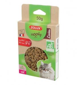 Friandises Mooky Bio Lovies au goût de Bœuf - Zolux - Pour chat adulte - 50 g