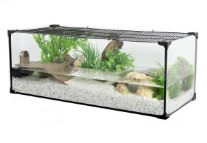 Aquaterrarium Karapas 80 - Zolux - 80 cm - Noir