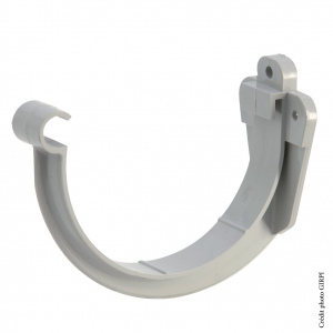 Support de gouttière développé de 25 - GIRPI - PVC - Gris