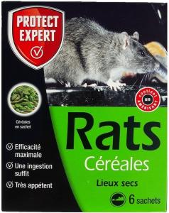 Rats Céréales - Protect Expert - 150 gr - x6