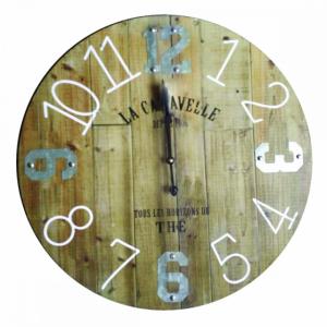 """Horloge en bois """"La caravelle"""""""