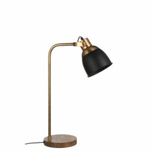 Lampe de table Jerom noire - 61 cm