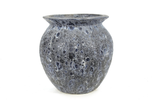 Pot antique - Bleu - 52X53 cm