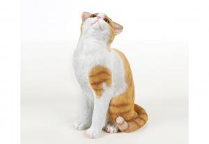 Figurine déco chat assis