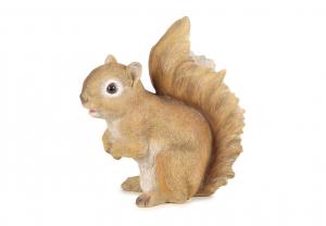 Figurine écureuil en résine