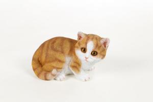 Figurine déco petit chat