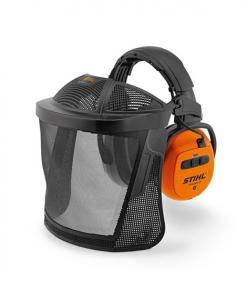 Visière intégrale DYNAMIC BT-N avec protège-oreilles - STIHL - Bluetooth 4.0 - SNR 29