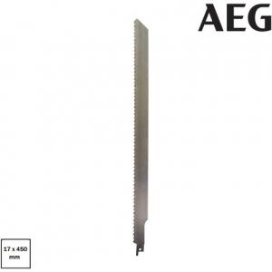 Lame de scie sabre pour matériaux abrasifs - AEG - 450 x 17 mm
