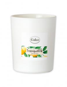 Bougie naturelle aux huiles essentielles d'orange - Galeo - Tranquillité