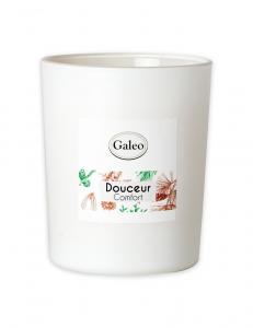 Bougie naturelle aux huiles essentielles de Pin - Galeo - Douceur