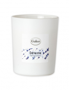 Bougie naturelle aux huiles essentielles de Lavande - Galeo - Détente