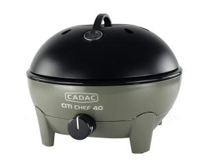 Barbecue Citi Chef 40 - Cadac - gaz - vert olive - 33.4 x 42.2 x 42.2 cm