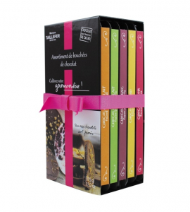 Assortiment de 5 tablettes de chocolat - Maison Tailefer - 5x75 gr