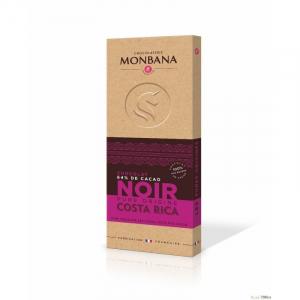 Tablette de chocolat noir du Costa Rica - Monbana - 100 gr