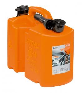 Bidon combiné standard avec 2 becs verseurs - STIHL - 5 et 3 L - Orange
