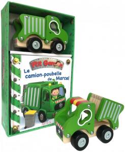 Coffret Le camion-poubelle de Marcel - Livre enfant