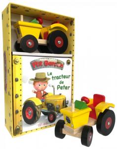 Coffret Le tracteur de Peter - Livre enfant