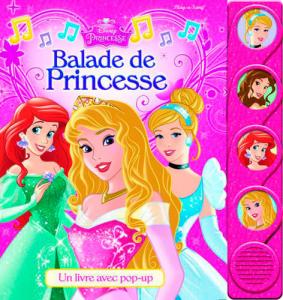 Balade de princesse Disney - Livre enfant