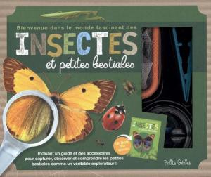 Coffret Insectes et petites bestioles - Livre enfant