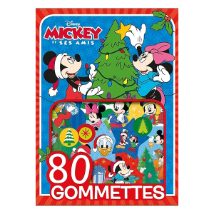 Gommettes Mickey spécial Noël - Livre enfant