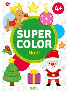 Supercolor Noël - Livre enfant