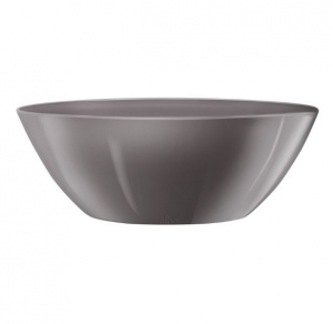 Pot Brussels Diamond Ovale - Elho - 20 cm - Gris perle