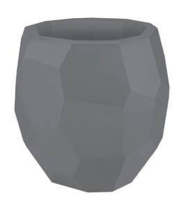 Pot Pure Edge - Elho - Ø 40 x 38 cm - Gris Concrete