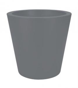 Pot Pure Straight Round - Elho - Ø 35 x 34 cm - Gris Concrete