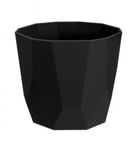 Cache-pot B.for Rock Rond - Elho - Living Noir - 14 cm