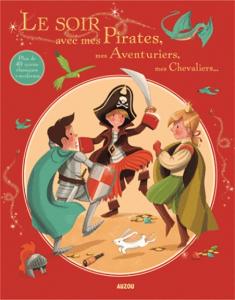 Le soir avec mes pirates... - Livre enfant