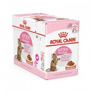 Sachets Kitten Sterilised Sauce pour chaton stérilisé - Royal Canin - 12 x 85 g