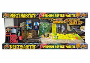Kit terrarium complet - Reptihabitat - Serpent - 20 Gallons - NT-S21E