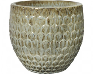 Pot Babylone - Deroma - grès émaillé - Ø 30 cm