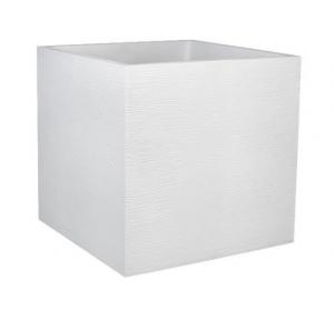 Pot carré Graphit - EDA - 57 L - Blanc cérusé
