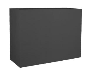 Muret Loft L Graphit - 78,5 X 29,5 X 60 cm - 46 L - Gris Anthracite