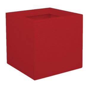 Pot carré Graphit UP - EDA - 21 L - Rouge rubis